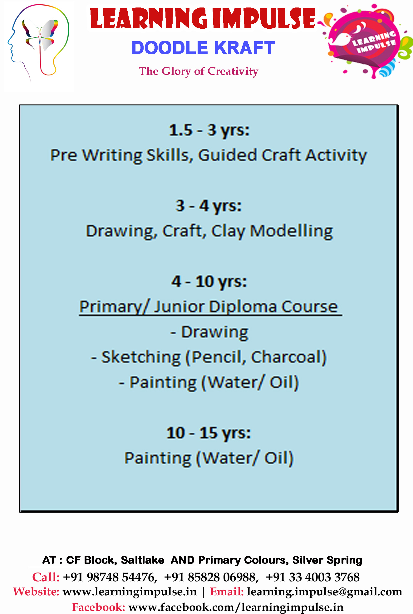 Enrichment Courses for children at Learning Impulse